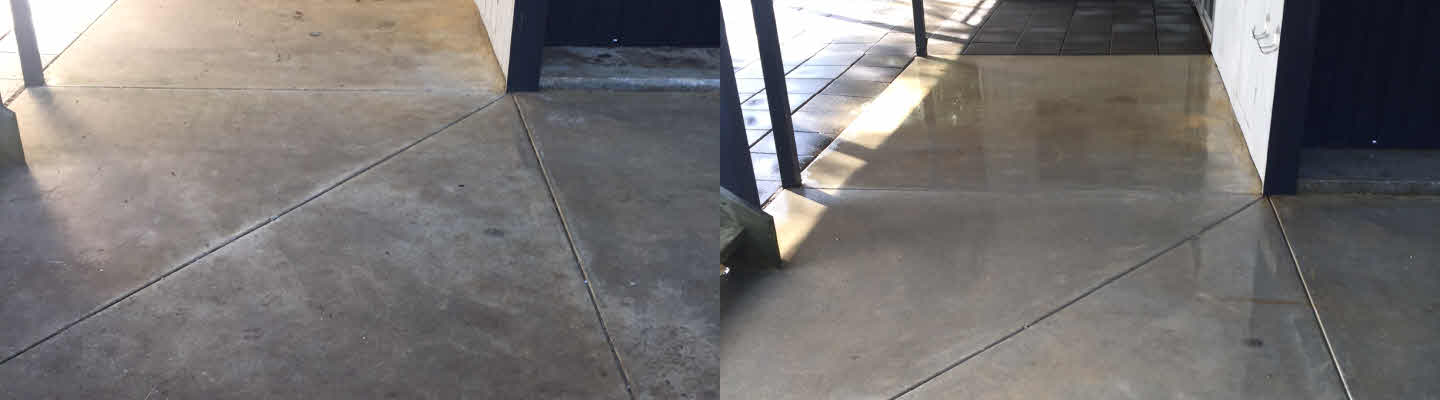 Armstrong Creek Concrete Porch High Pressure Washed Back To New