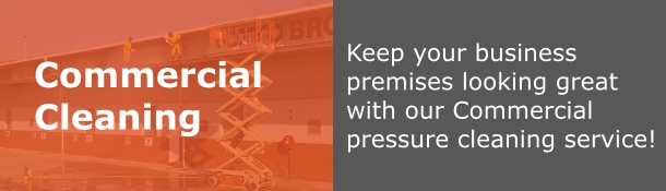Premium Pressure Clean commercial high pressure washing image