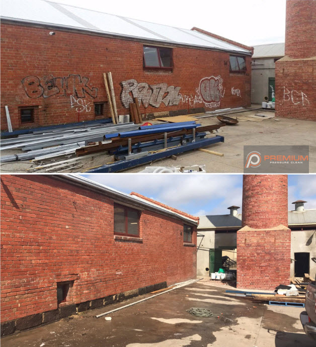 High Pressure Graffiti Removal In Geelong
