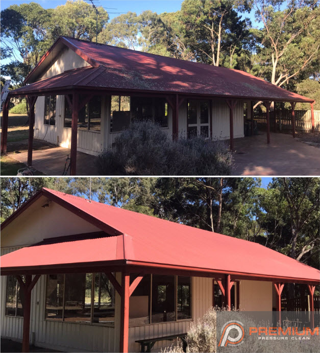 High Pressure Roof Cleaning In Geelong